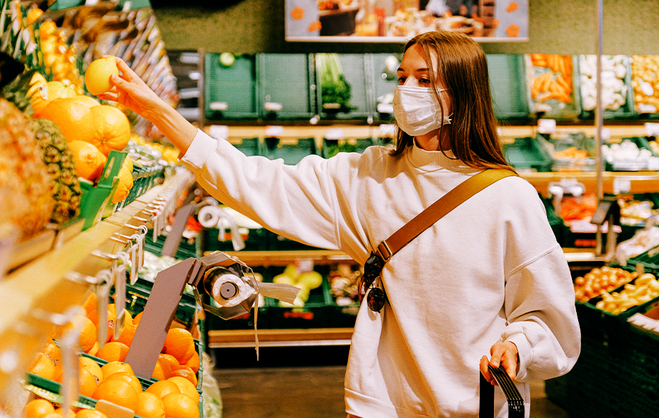Staying safe while buying grocery